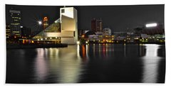 Cleveland Ohio Beach Towel by Frozen in Time Fine Art Photography