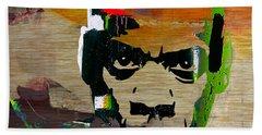 Jay Z Beach Sheet by Marvin Blaine