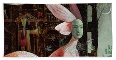 A Midsummer Night's Dream Beach Towel by Victoria Fomina