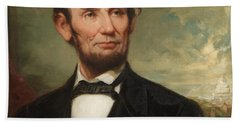 Abraham Lincoln  Beach Towel by George Henry Story
