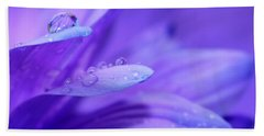 After The Rain Beach Towel by Krissy Katsimbras