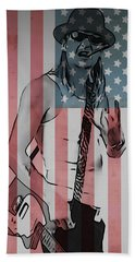 American Badass Beach Towel by Dan Sproul
