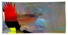 American Bald Eagle Beach Sheet by Marvin Blaine