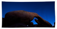 Arch Rock Starry Night Beach Towel by Stephen Stookey