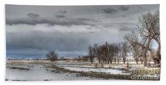Beach Towel featuring the photograph Ardmore Prairie by Bill Gabbert
