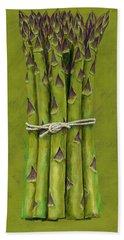 Asparagus Beach Towel by Brian James