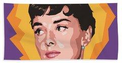 Audrey Beach Sheet by Douglas Simonson