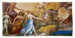 Aurora Beach Towel by Guido Reni