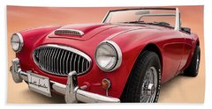 Austin Healey Beach Sheet by Douglas Pittman