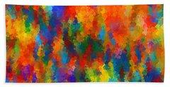 Be Bold Beach Towel by Lourry Legarde