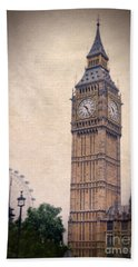 Big Ben In London Beach Towel by Jill Battaglia