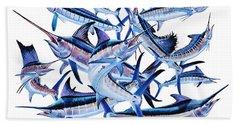 Bills Off0044 Beach Sheet by Carey Chen
