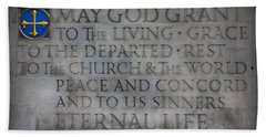 Blessing Beach Towel by Stephen Stookey