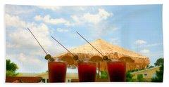 Bloody Mary Trio Beach Sheet by Beth Ferris Sale