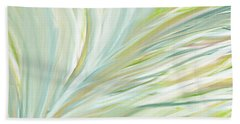 Blooming Grass Beach Towel by Lourry Legarde
