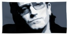 Bono Beach Towel by Dan Sproul