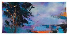 By The Canyon Beach Towel by Elise Palmigiani
