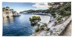 Calanque De Port Miou, France Beach Sheet by Marc Garrido