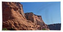 Canyon Dechelly Navajo Nation Beach Sheet by Bob and Nadine Johnston
