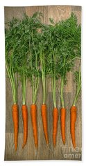 Carrots Beach Sheet by Svetlana Sewell