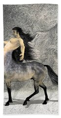 Centaur Beach Towel by Quim Abella