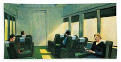 Chair Car Beach Sheet by Edward Hopper