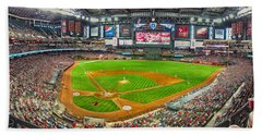 Chase Field 2013 Beach Towel by C H Apperson