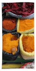 Chilli Powders 3 Beach Towel by James Brunker