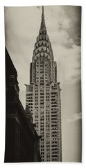 Chrysler Beach Towel by Andrew Paranavitana
