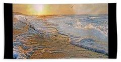 Coastal Paradise Beach Sheet by Betsy Knapp