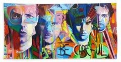 Coldplay Beach Sheet by Joshua Morton