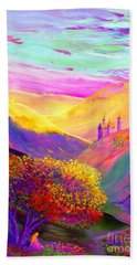 Colorful Enchantment Beach Towel by Jane Small