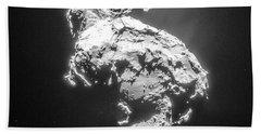 Beach Towel featuring the photograph Comet 67pchuryumov-gerasimenko by Science Source