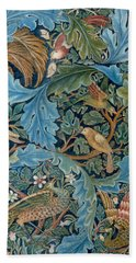 Design For Tapestry Beach Sheet by William Morris