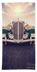 Dream Car Beach Sheet by Edward Fielding