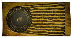 Edmond Halley Memorial Beach Towel by Stephen Stookey