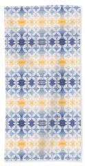 Elevator Door Spring Tones Beach Towel by Beverly Claire Kaiya