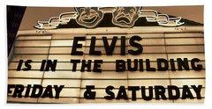 Elvis Is In Beach Towel by David Lee Thompson