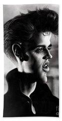 Elvis Presley Beach Towel by Andre Koekemoer