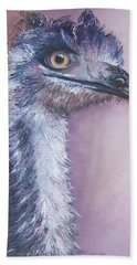 Emu By Jan Matson Beach Towel by Jan Matson
