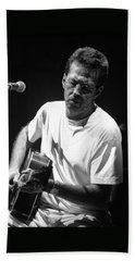 Eric Clapton 003 Beach Towel by Timothy Bischoff