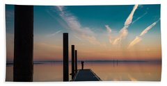 Beach Towel featuring the photograph Follow Me by Thierry Bouriat