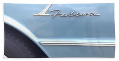 Ford Falcon 1961  Beach Towel by Don Spenner