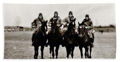 Four Horsemen Beach Sheet by Benjamin Yeager