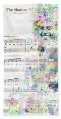Frank Sinatra Beach Sheet by Jonas Luis
