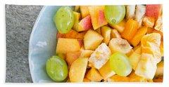 Fruit Salad Beach Towel by Tom Gowanlock