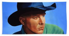 Garth Brooks Beach Sheet by Paul Meijering