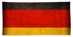 Germany Flag Vintage Distressed Finish Beach Towel by Design Turnpike