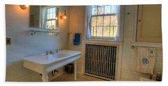 Glensheen Bathroom Duluth Beach Towel by Amanda Stadther