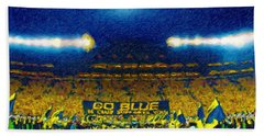Glory At The Big House Beach Towel by John Farr
